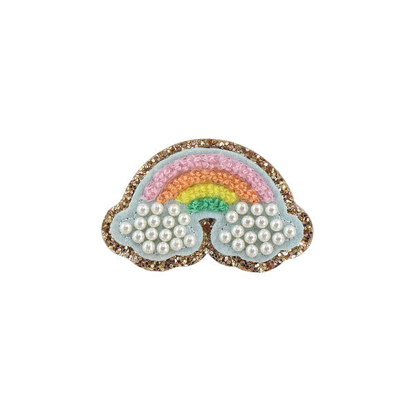 Glitter Pearl Rainbow Patch