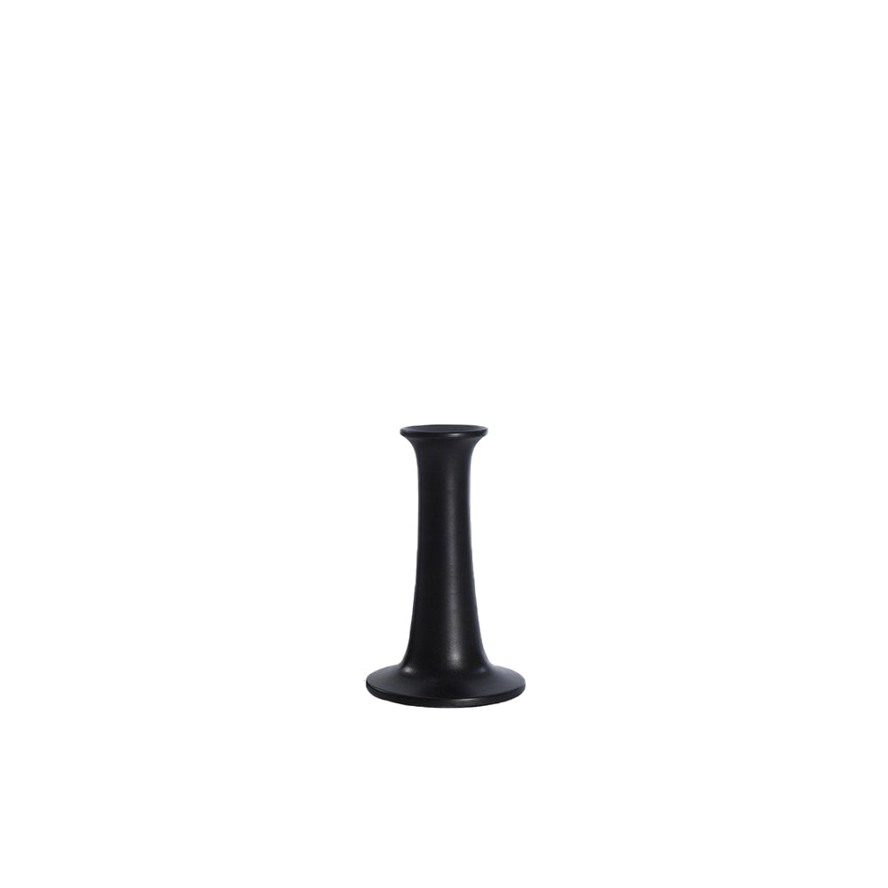 Simple Candle Holder - Black, Small