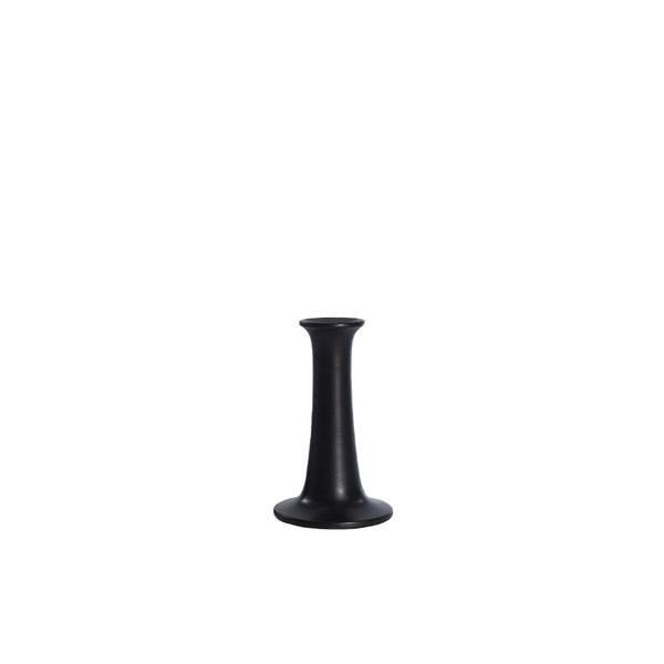 Simple Candle Holder - Black, Extra Small