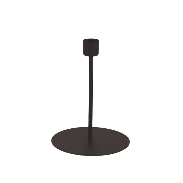 Black Taper Candle Holder - Tall