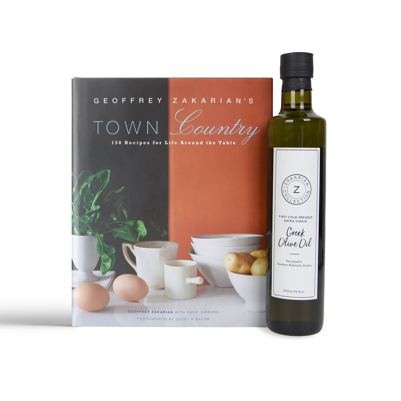 Town/Country & Zakarian Greek Olive Oil