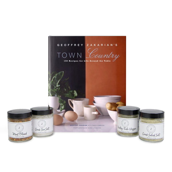 Town/Country (Signed & Personalized) & Zakarian Spice Set
