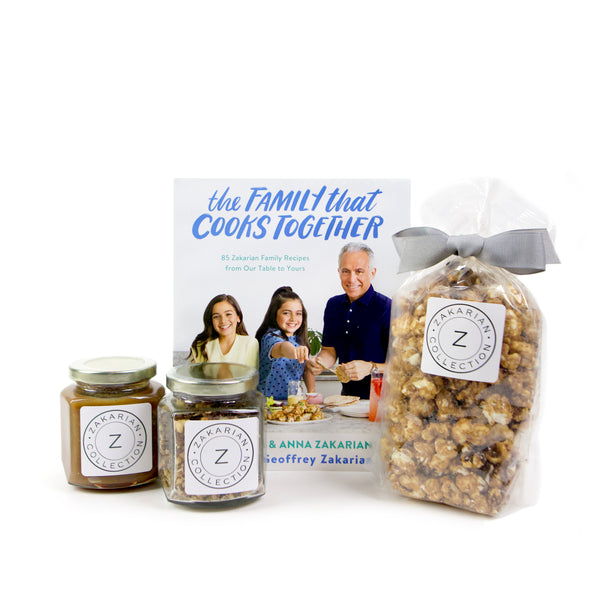 The Family That Cooks Together (Signed & Personalized) & Sweet Toffee Treats