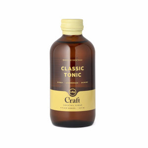 Craft Cocktail Syrup - Classic Tonic