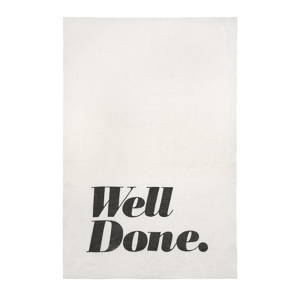 Tea Towel - Well Done