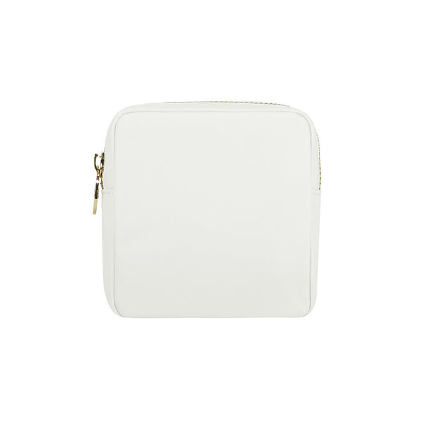Nylon Mini Pouch - White