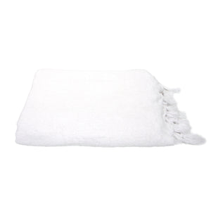 Fouta Towel - White Terry
