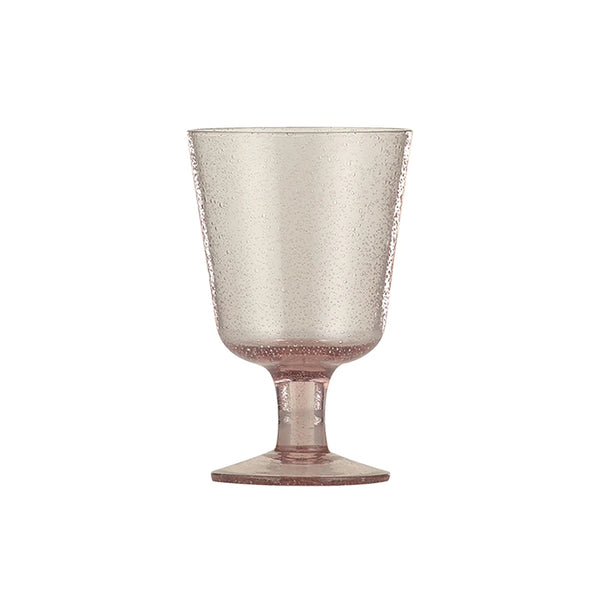 Handmade Wine Glass - Old Rose