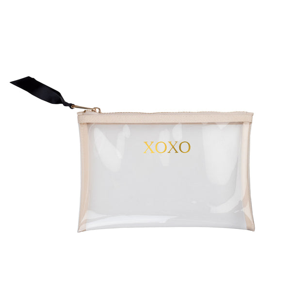 Dolly Zipper Pouch - XOXO