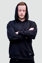 Load image into Gallery viewer, Man's Hoodie Black