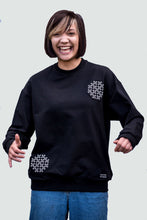 Load image into Gallery viewer, Woman's Sweatshirt Black