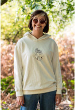Load image into Gallery viewer, Astronaut Siting On Planet Women's  Hoodie White Nature