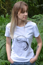 Load image into Gallery viewer, Human lines T-Shirt White