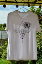 Load image into Gallery viewer, Unisex Honey Bee T-Shirt White