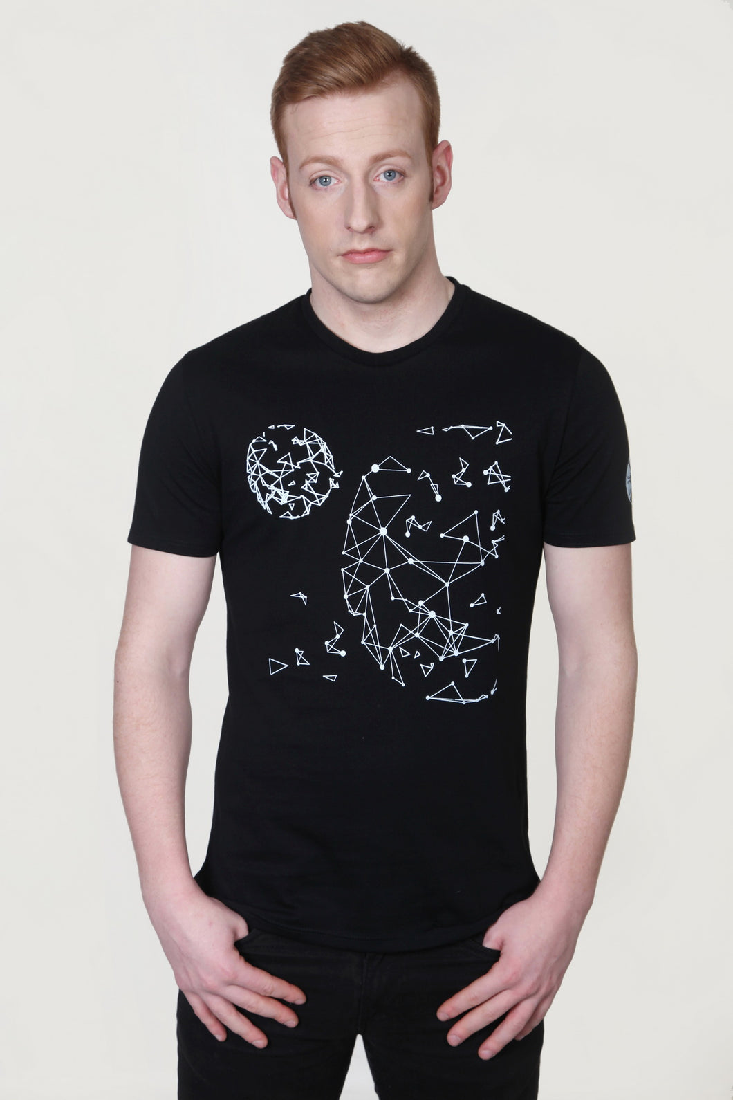 Globe Universe Elements T-Shirt Black