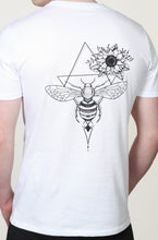 Load image into Gallery viewer, Women's Honey Bee T-Shirt White