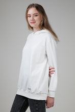 Load image into Gallery viewer, Women's Hoodie White Nature
