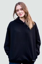 Load image into Gallery viewer, Women's Hoodie Black