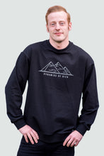 Load image into Gallery viewer, Sweatshirt Men's Black Pyramid of Giza