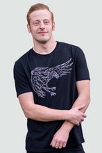 Load image into Gallery viewer, Eagle Flying Swoop T-Shirt Black