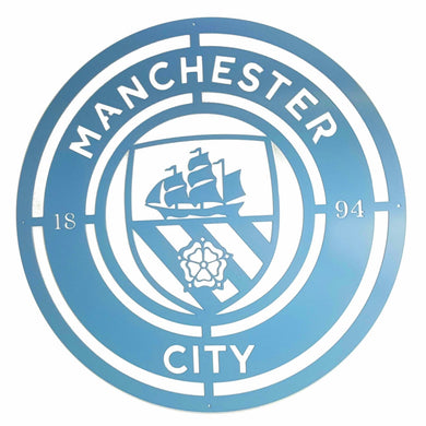 Manchester City Football Club Mounted Wall Art Design