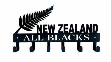 New Zealand All Blacks 6 hook Key hook