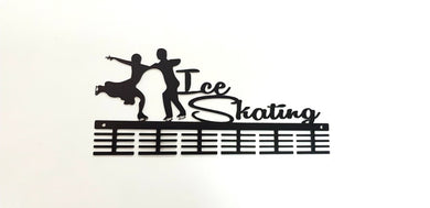 Ice Skating 48 tier medal hanger (option of colors available)