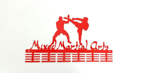 Mixed Martial Arts 48 tier medal hanger (option of colors available)