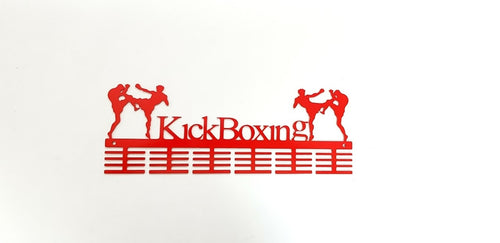 Kick Boxing 48 tier medal hanger (option of colors available)