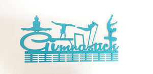 Gimnastiek Womans Artistic Gymnastics 56 tier medal hanger (option of colors available)