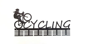 Lady Cycling 48 tier medal hanger (option of colors available)