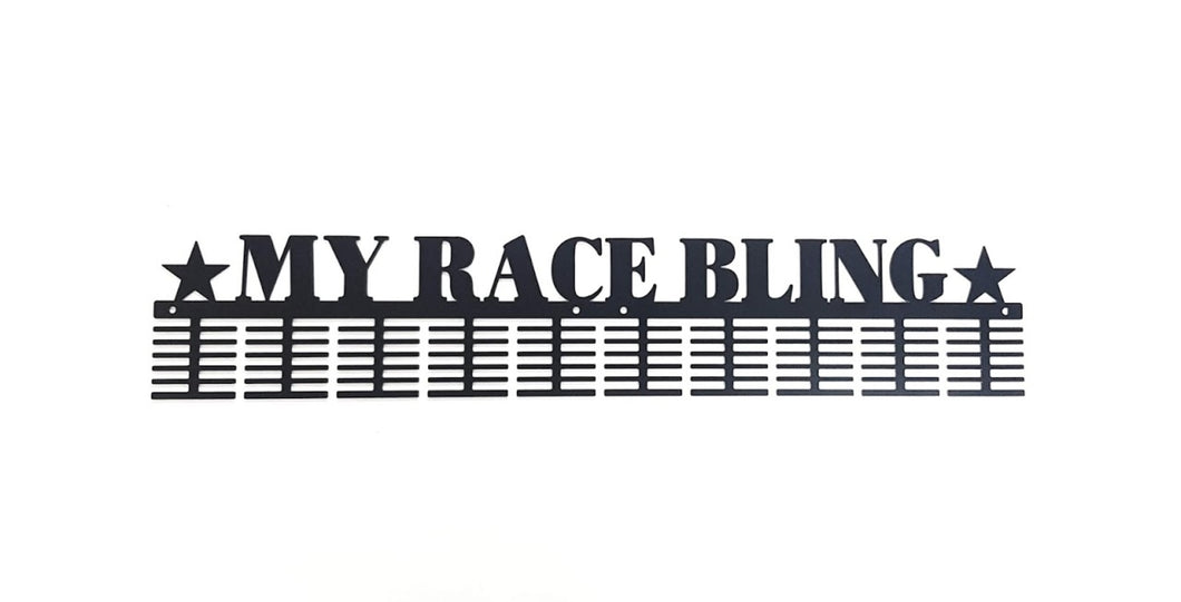 My Race Bling 120 tier medal hanger (option of colors available)