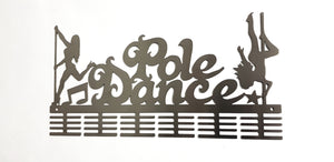 Pole Dance 48 tier medal hanger (option of colors available)
