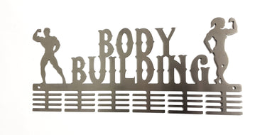 Body Building 48 tier medal hanger (option of design & colors available)