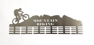 Mountain bike mountain 48 tier medal hanger (option of colors available)
