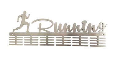 Running man 48 tier medal hanger (option of colors available)