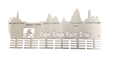 Cape Town Cycle Tour 48 tier medal hanger Stainless steel brush finish