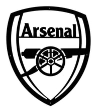 Load image into Gallery viewer, Arsenal Football Club Mounted Wall Art Design