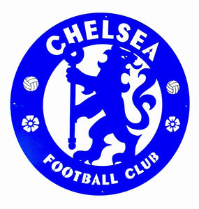 Chelsea Football Club Mounted Wall Art Design