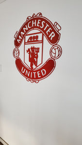 Manchester United Football Club Mounted Wall Art Design