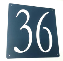 Load image into Gallery viewer, Personalised house number plate designs