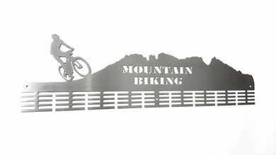 Mountain bike mountain 72 tier medal hanger (option of colors available)