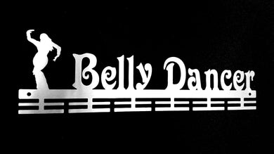 Belly Dancer 24 tier Medal hanger (option of colors available)