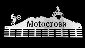 Motocross 48 tier medal hanger (option of colors available)