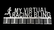 Load image into Gallery viewer, Lady My Virtual Racing Bling 48 tier medal hanger (option of colors available)