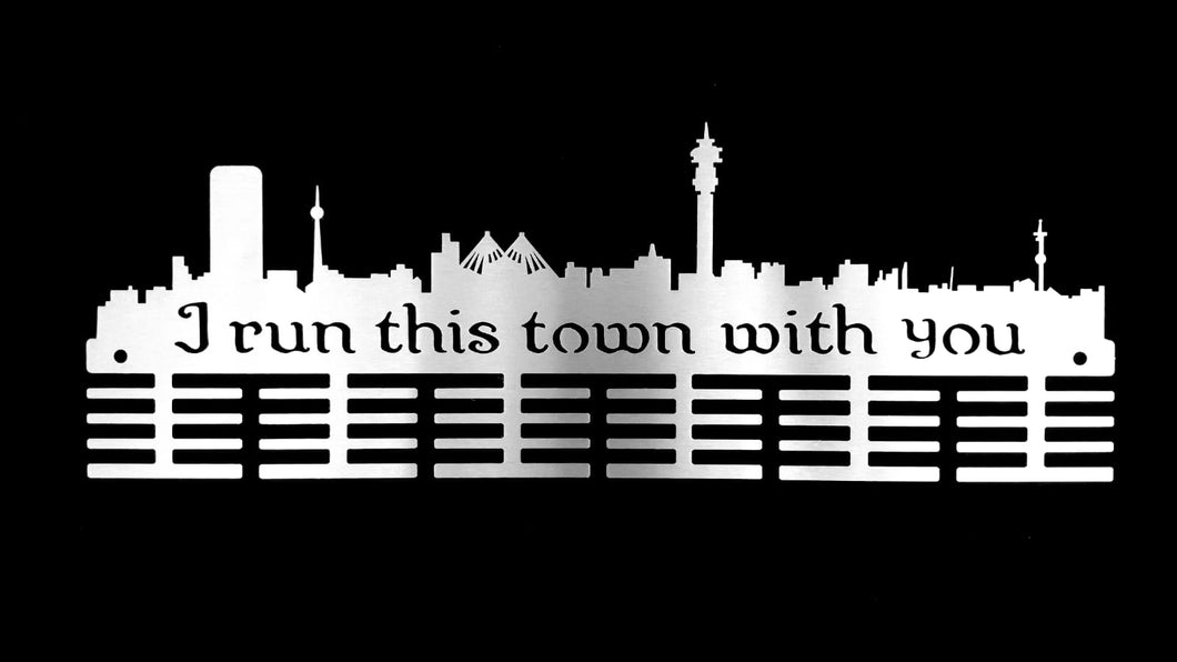 JHB I Run This Town With You 48 tier medal hanger (option of colors available)