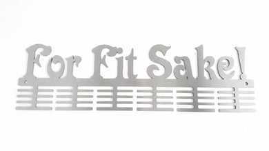 For Fit Sake! 48 tier medal hanger (option of colors available)