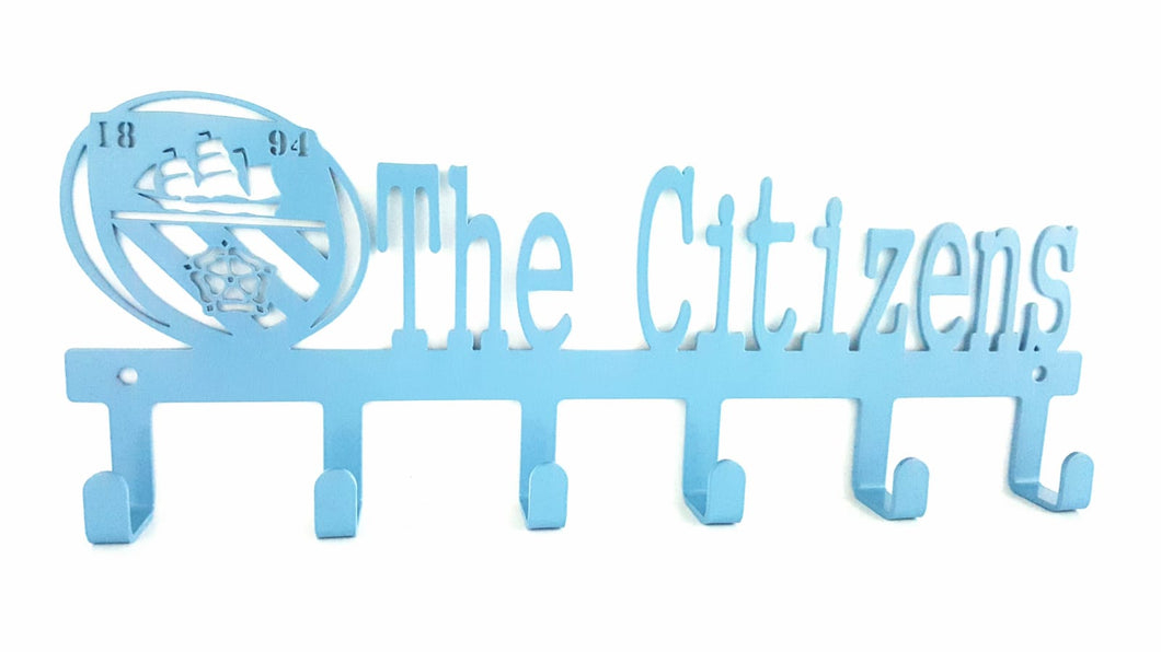 The Citizens Man City key hook