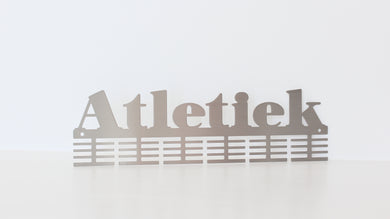 Atletiek 48 tier medal hanger (option of colors available)