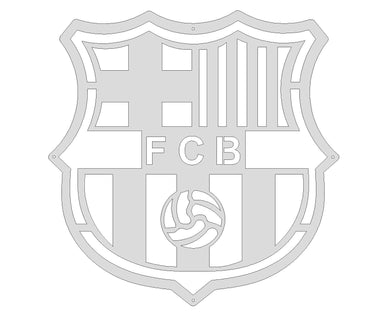 Barcelona FC Mounted Wall Art Design